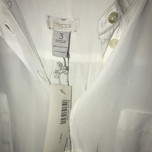 Chico's Tops - Chico's white blouse